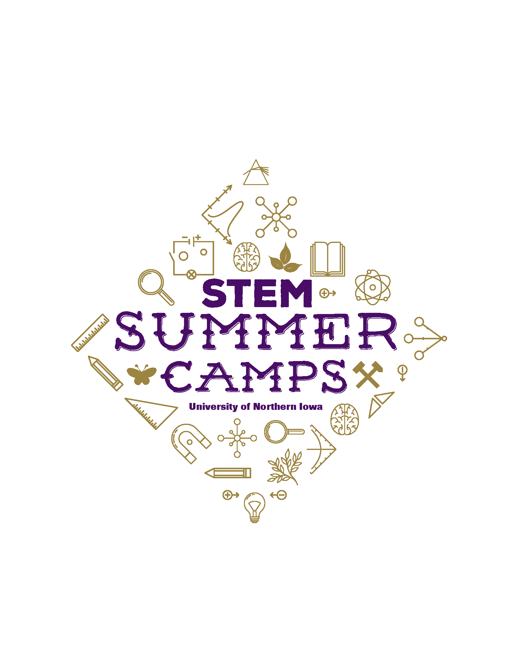 UNI STEM Camps 2016 Logo