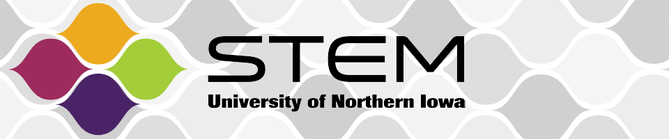 STEM at UNI Header Image - Logo