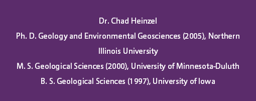 Dr. Chad Heinzel