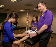 UNI students gain practical hands-on experience in labs.