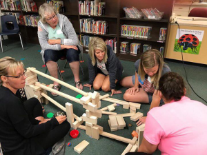 Cherokee area teachers are the first to begin receiving Ramps & Pathways materials for their classroom and UNI graduate credit for professional learning.