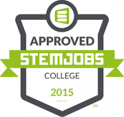STEM Jobs (sm) Approved Logo from stemjobs.com