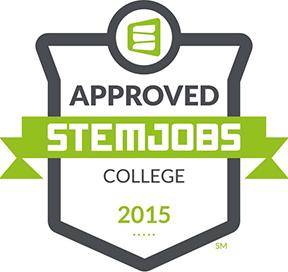 STEM Jobs (sm) Approved Logo from stemjobs.com