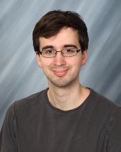 Eric Scheidecker, a graduate student in mathematics