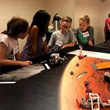 Robotic Campers solve moon missions.