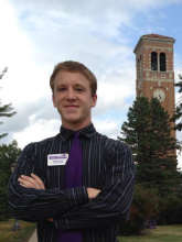 Kaleb Luse, computer science and business major