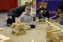 Students participating in Ramps and Pathways at CEESTEM