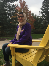 Ameera Tahir, Environmental Health and Biology Major