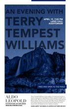 Leopold Series Poster - An Evening with Terry Tempest Williams