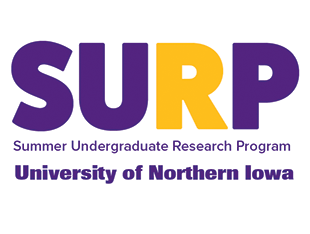 Summer Undergraduate Research Program (SURP) Logo - SURP allows undergraduates to experience research in the lab and field.